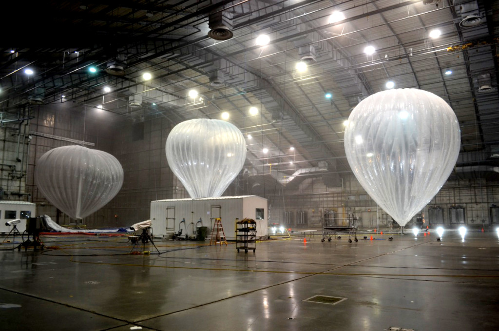 Balloons Could Soon Be Powering The Web